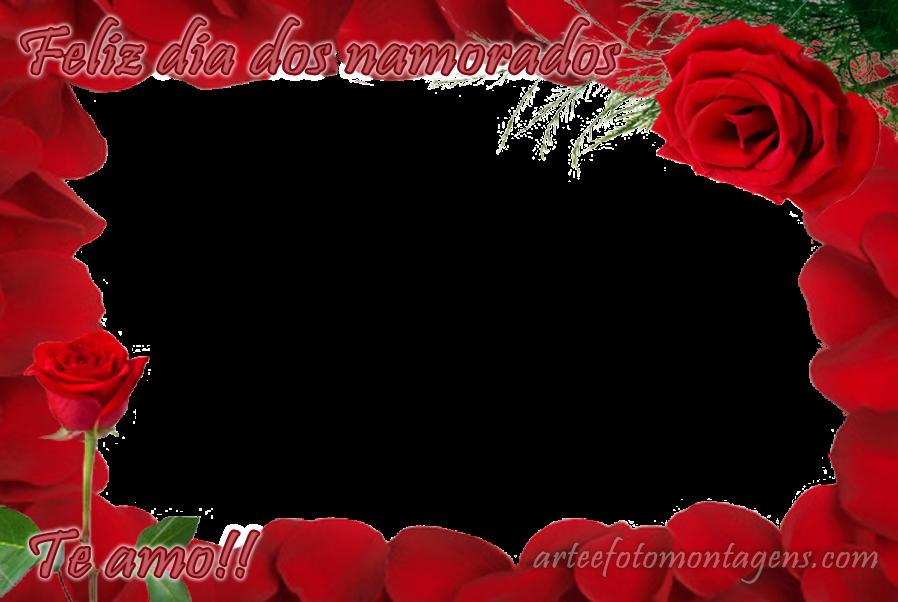 Molduras Png Comemorativas Dia Dos Namorados Rosas