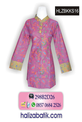 grosir batik pekalongan, Blus Wanita, Blus Batik Terbaru, Baju Blus