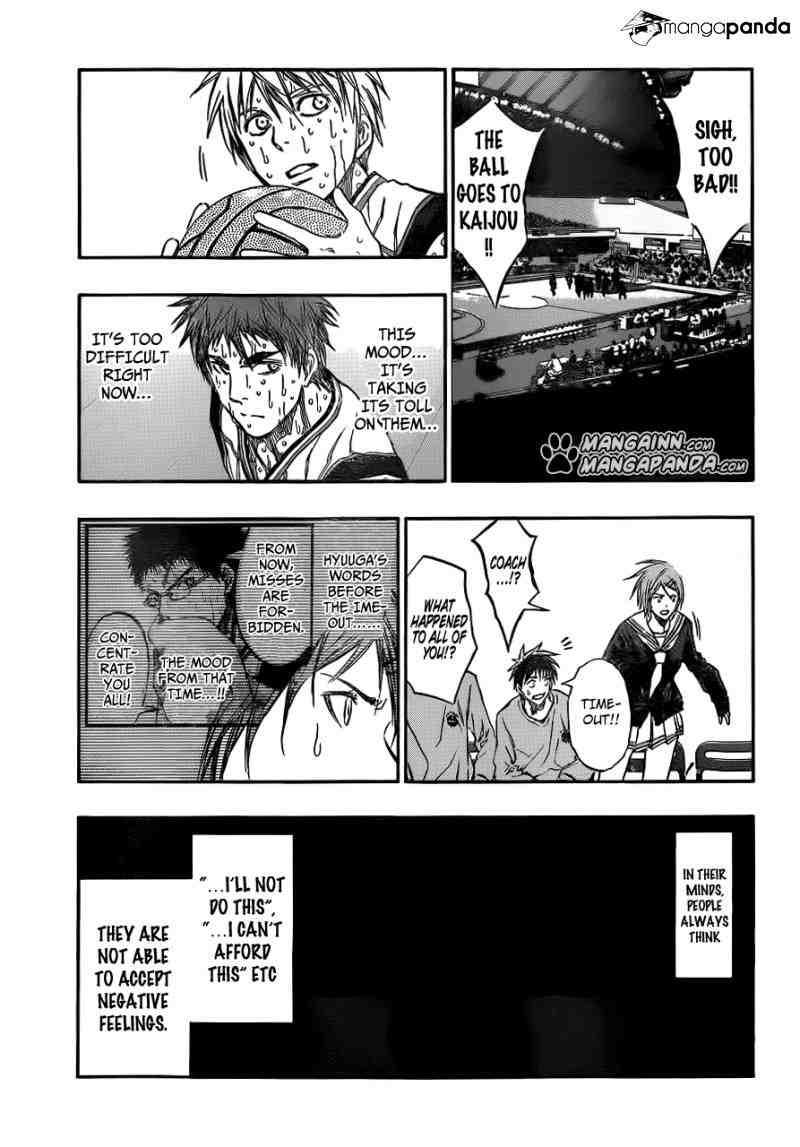 Kuroko no Basket Manga Chapter 198 - Image 11