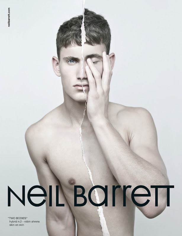 Robin Ahrens by Neil Barrett for Neil Barrett F/W 2011