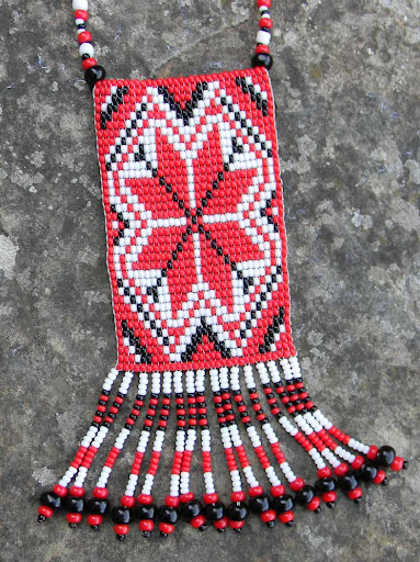 купить этнические украшения из бисера украина