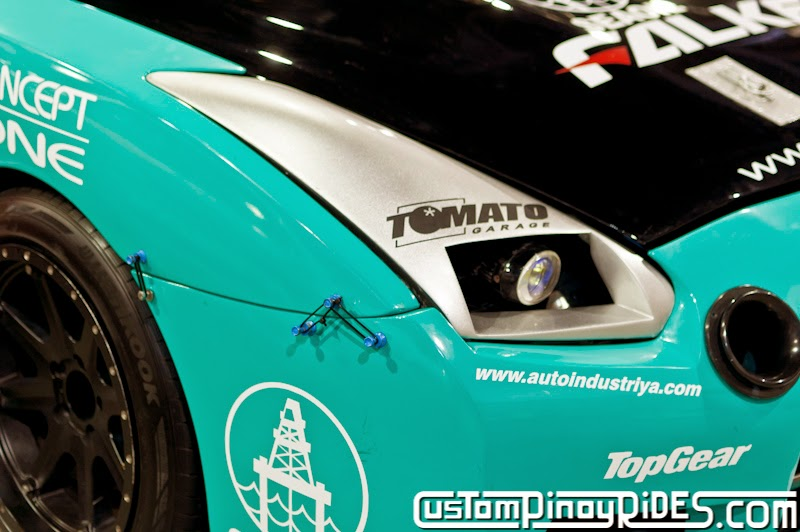 Atoy Customs Nissan Cefiro A31 to R35 GT-R Drift Car Conversion Custom Pinoy Rides Car Photography Manila Philippines pic3