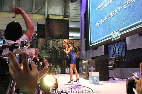 Gstar 2011: Toàn cảnh gian hàng Blizzard Entertainment 12