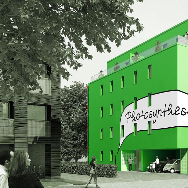 *真正的綠能建築BIQ:建築師Splitterwerk由海藻產生電能! 1