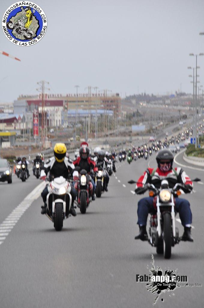 Día de la Moto - Feria Navidad 7 Palmas - Homenaje a los moteros ausentes