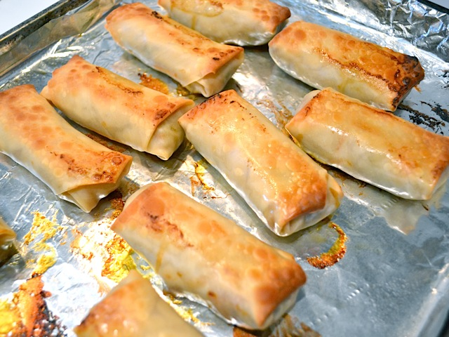 vegetable egg rolls - Budget Bytes