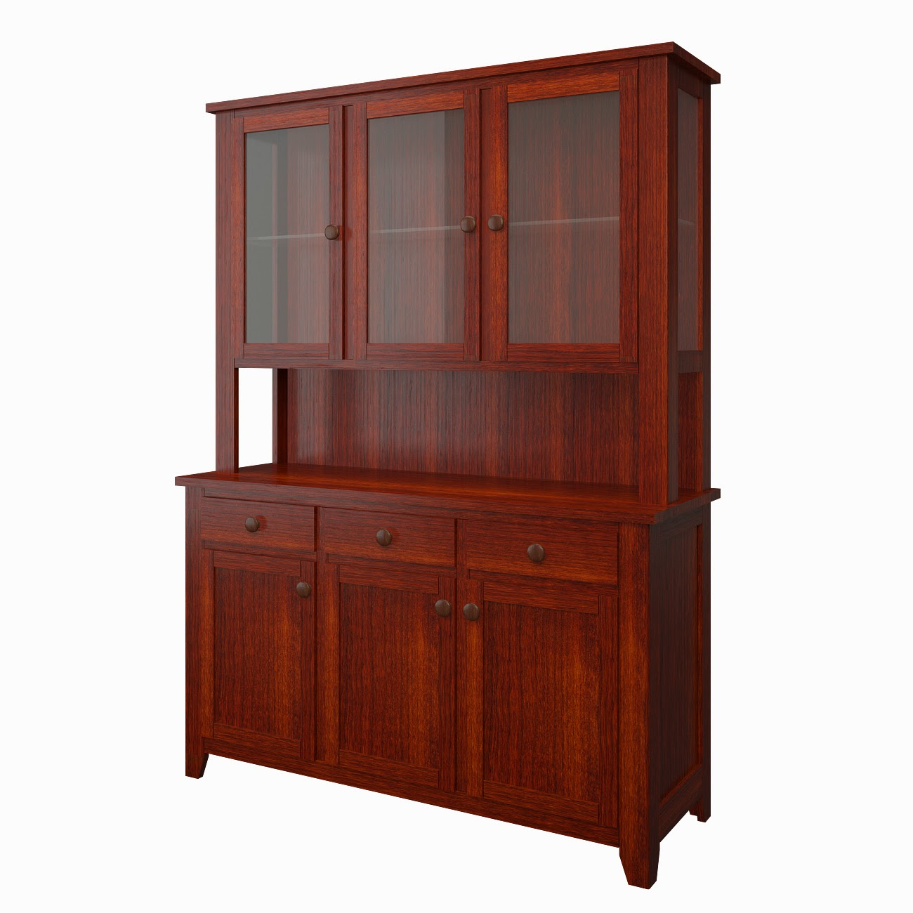 Shaker China Cabinets | China Cabinet in the Shaker Style