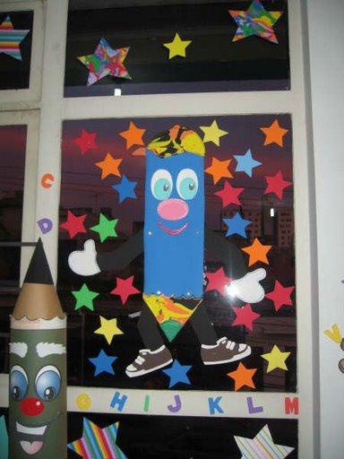 Preescolares ideas para decorar el aula for Puertas decoradas para regreso a clases