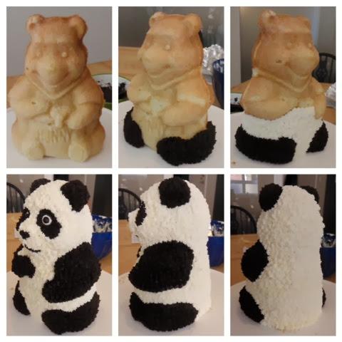 Préférence Gateau panda en pate a sucre – Gâteaux et pâtisseries site culinaire JD27