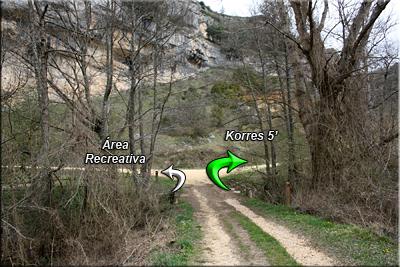 Llegando a Korres