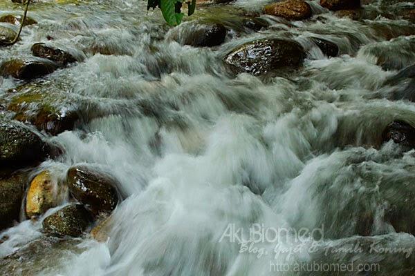 air sungai chiling yang jernih