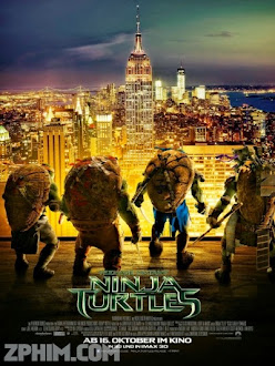 Ninja Rùa - Teenage Mutant Ninja Turtles (2014) Poster