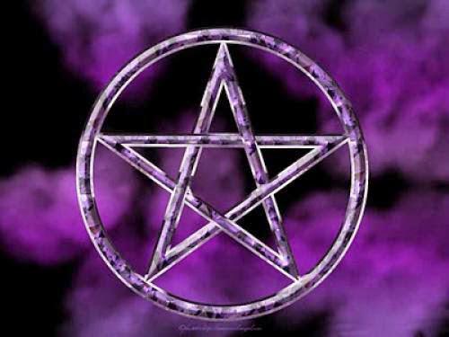 Satanism Pentagram And Wicca