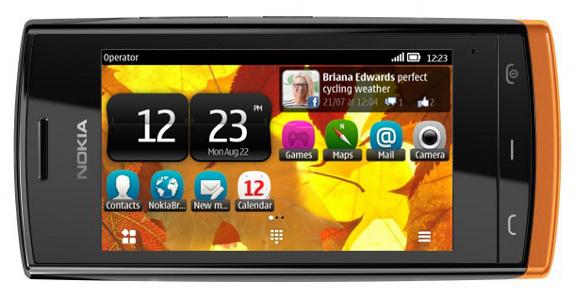 Nokia 500 chạy Symbian Belle