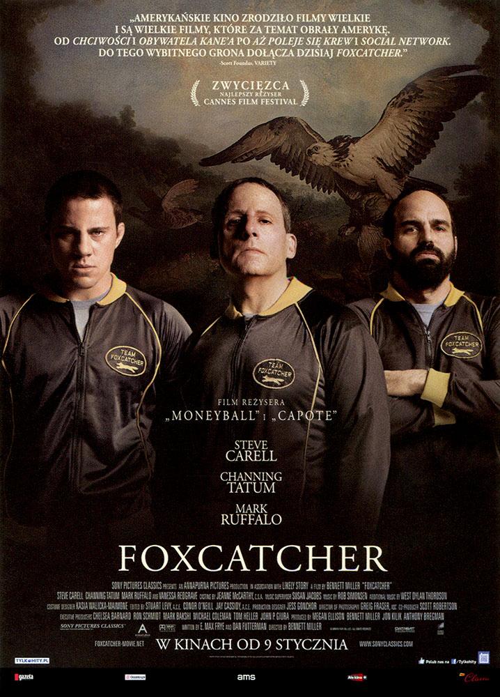 Ulotka filmu 'Foxcatcher (przód)'