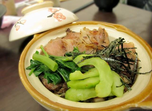 >炙燒五花豬拌飯 NT.85元-南門蒸餃
