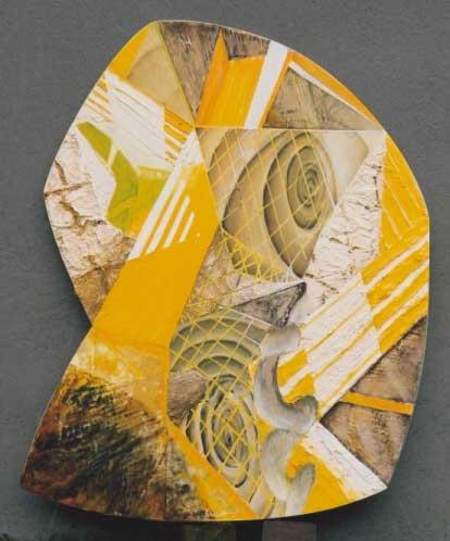 Slang en Glijbaan - schilderij van Atelier Bram de Haan