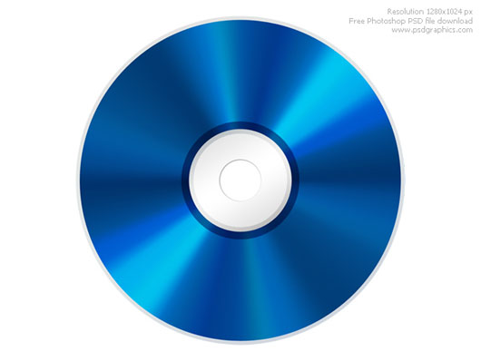 Blu-Ray disco download psd