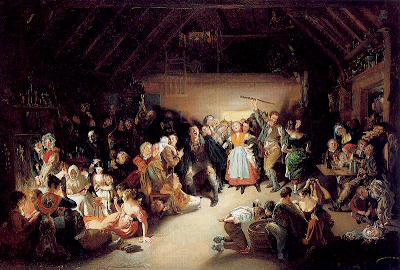 Daniel Maclise - Snap-Apple Night globalphilosophy