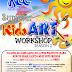 KCC Mall of Gensans's Summer Kids Art Workshop