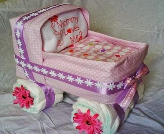 adornos y distintivos para baby shower