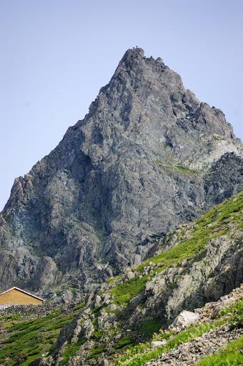 槍ヶ岳の写真