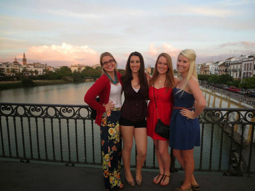Hannah Olevson. #StudyAbroadBecause it changes the way you see the world