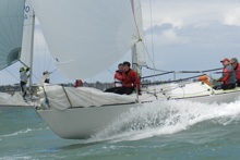 J/24 sailing Australian Nationals- Sandringham Bay