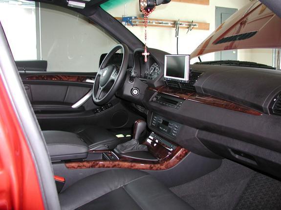Bmw Automobiles Bmw X5 2003 Interior
