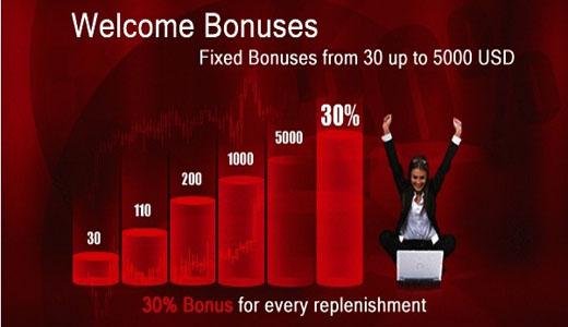 Bonus selamat datang