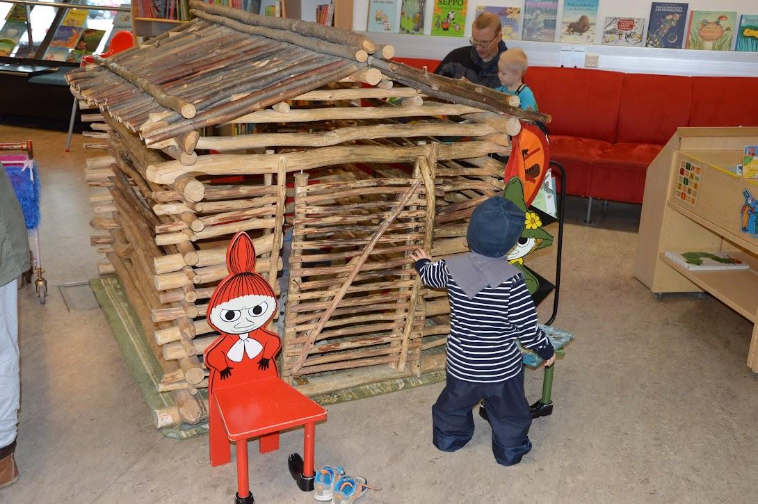 Knjižnica Vantaa, otroški oddelek