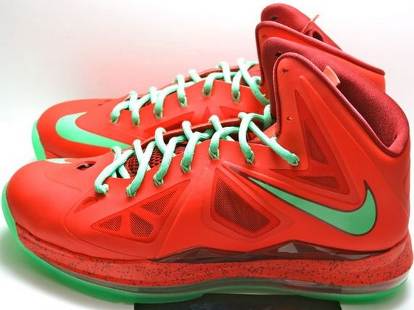 Another Look at LeBron James8217 Upcoming Christmas Shoes