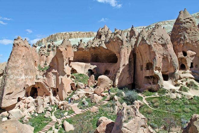 Zelve Open Air Museum, Cappadocia