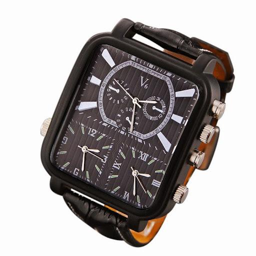 V6 Men Sports Watches Men Luxury Brand Multiple Time Zo