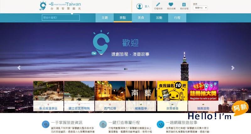 台灣智慧觀光APP