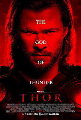 Thor The God of Thunder Portrait One Sheet Movie Poster