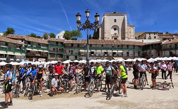 Ruta MTB de Madrid a Chinchón, sábado 18 de abril 2015 ¿Te apuntas?