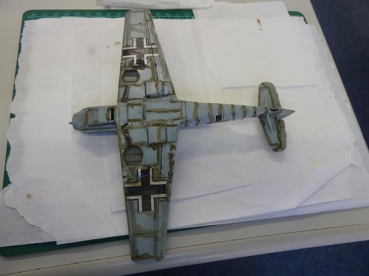 Bf-109 E-3 Tamiya 1/48 - Reforma pintura P1020515