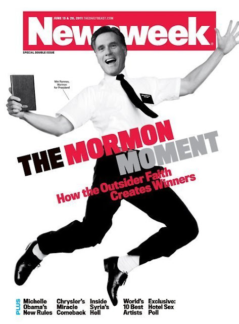 newsweek mormons rock. cover of Newsweek Magazine