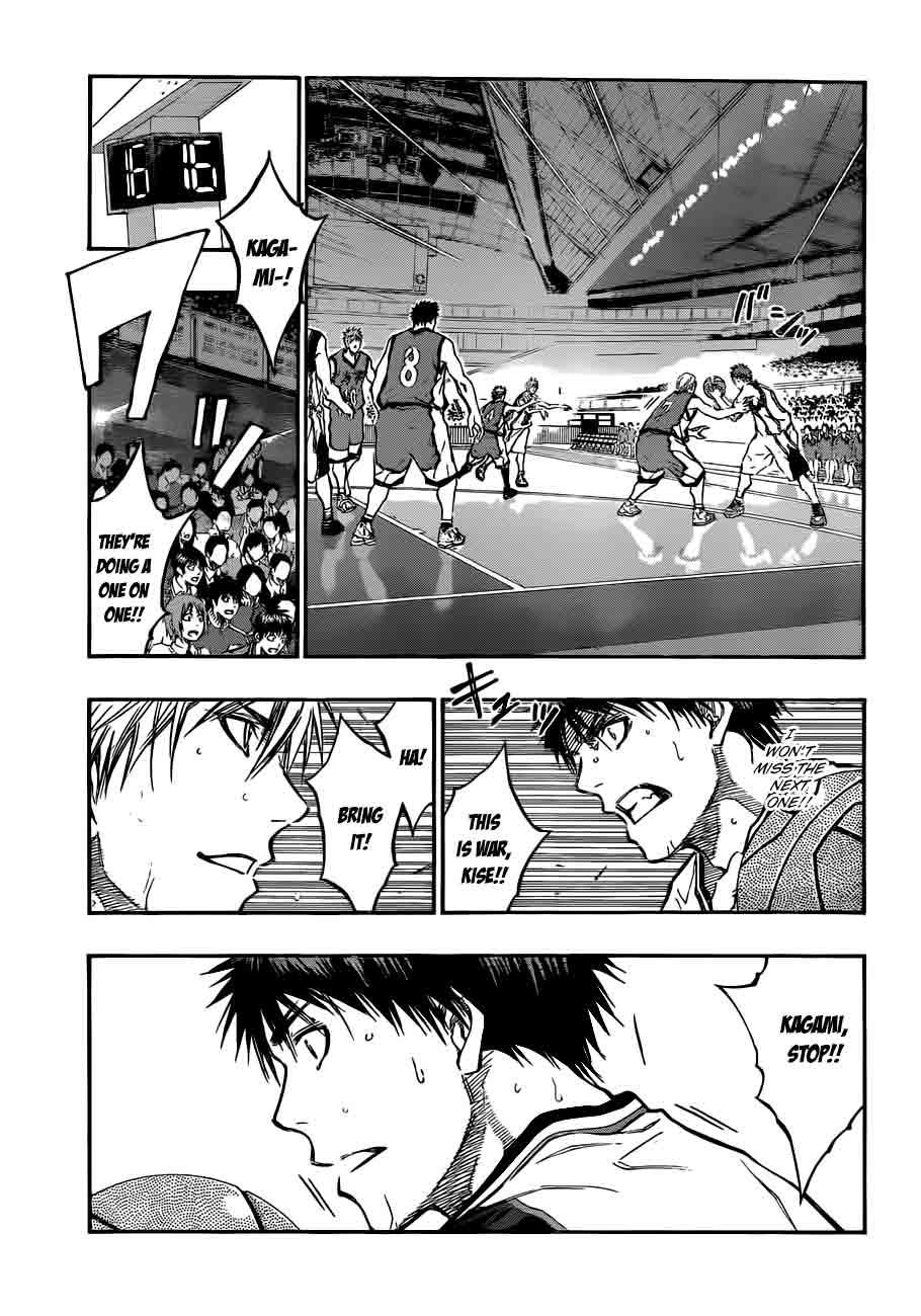 Kuroko no Basket Manga Chapter 187 - Image 03