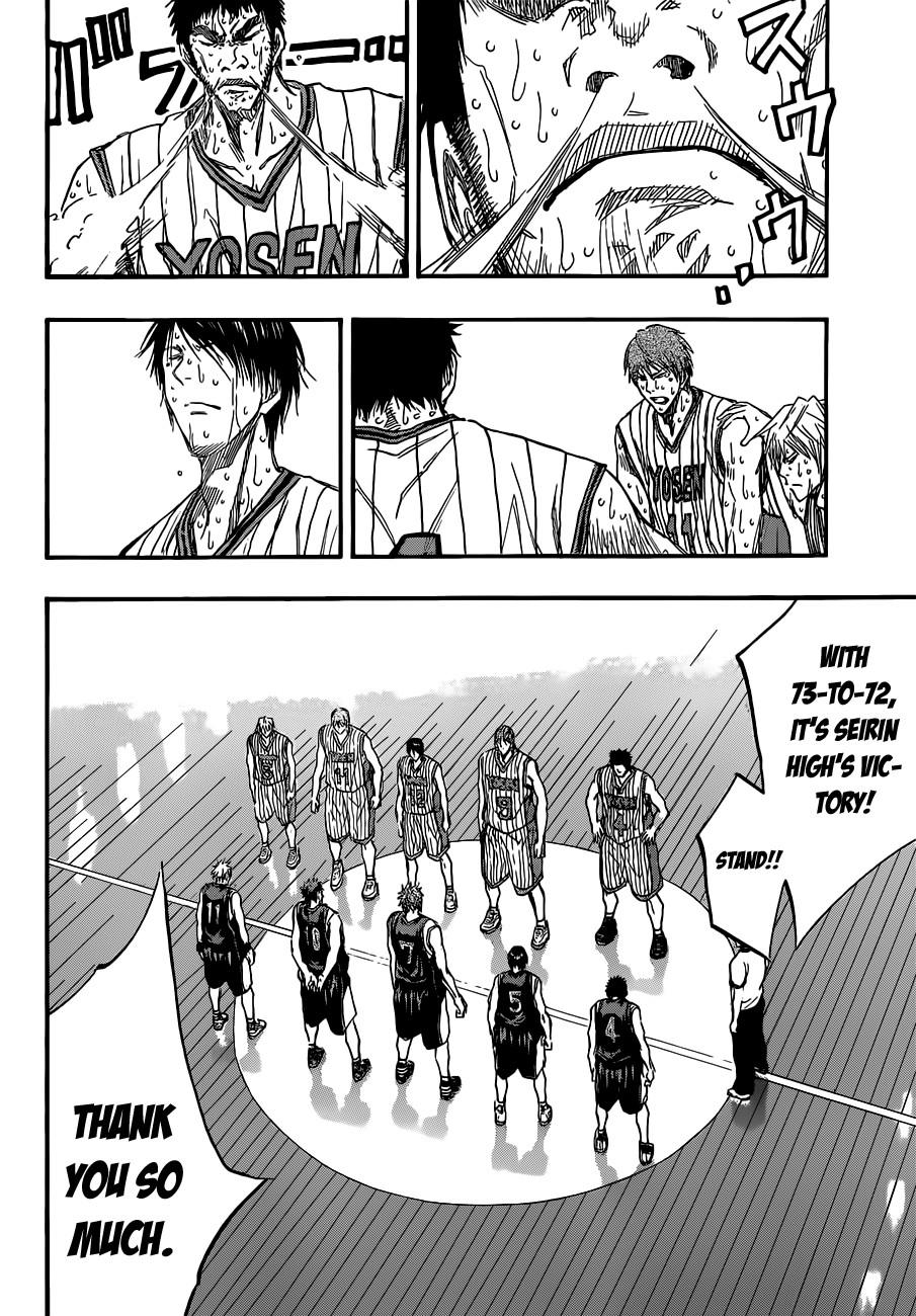 Kuroko no Basket Manga Chapter 169 - Image 06