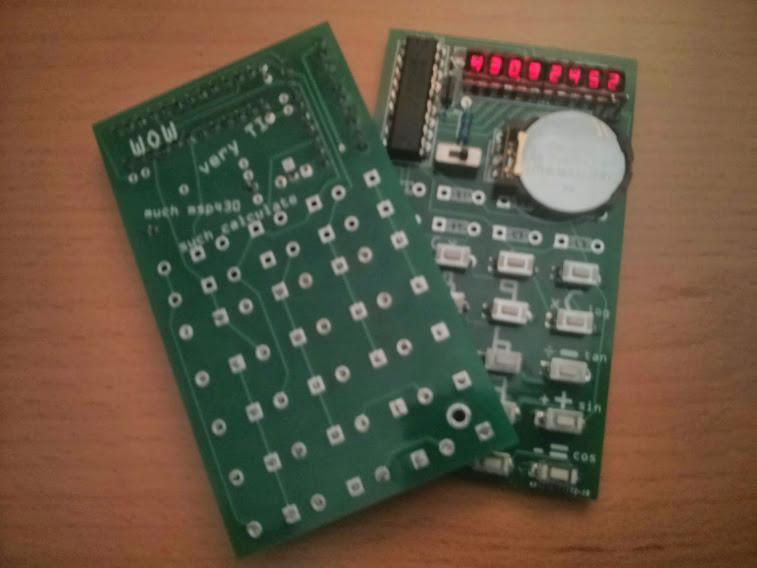V1 PCB w/ blank PCB