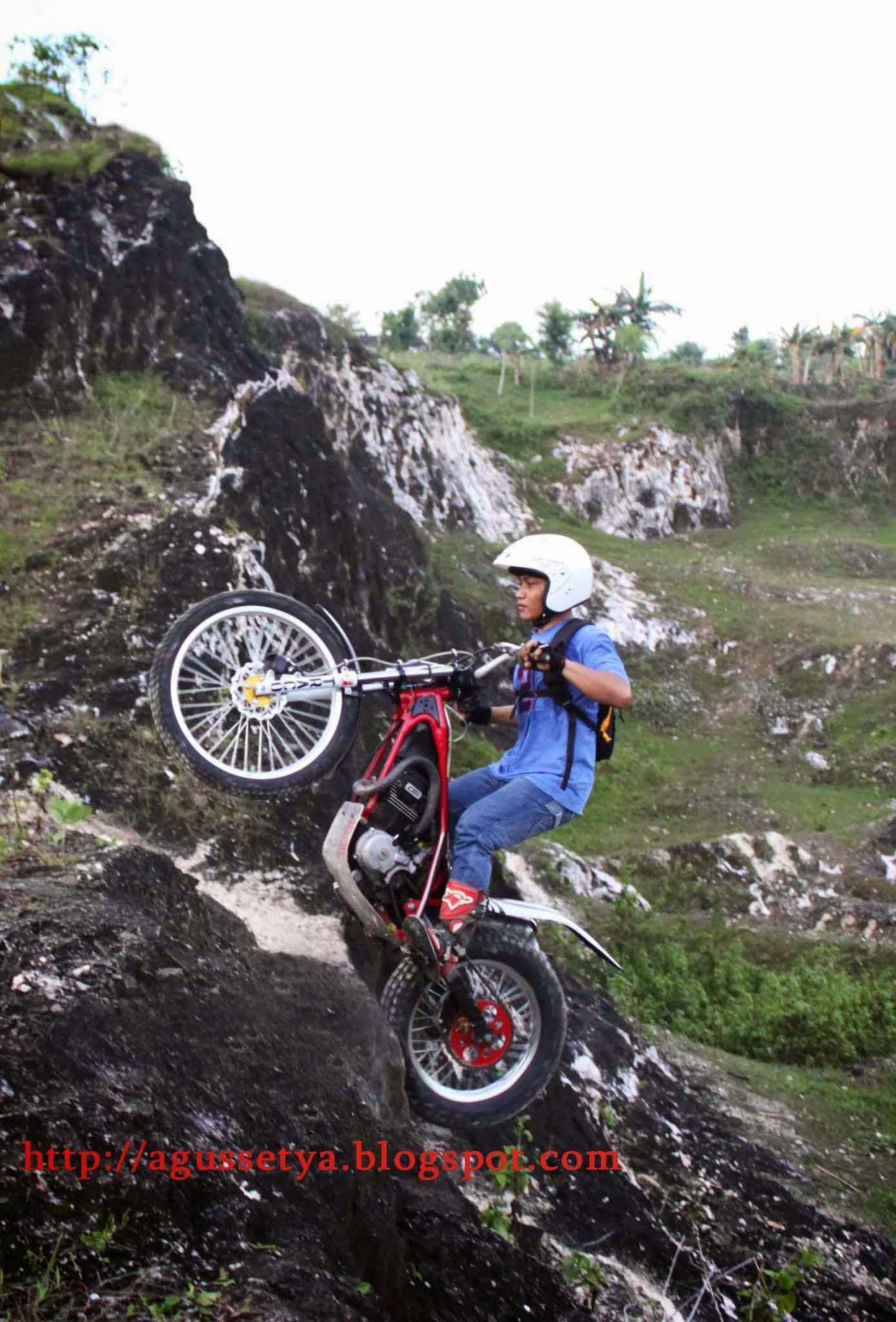 Rangka Gl Max Modifikasi Trail