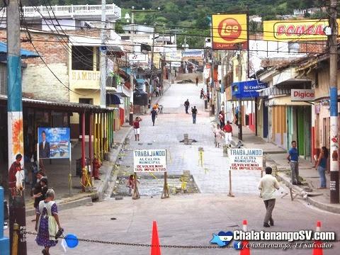 Calle Morazán, Chalatenango