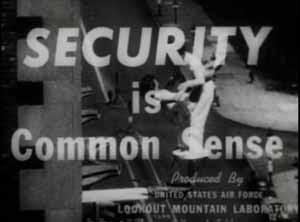 Кадр из пропагандистского фильма лаборатории «Лукаут Маунтин»