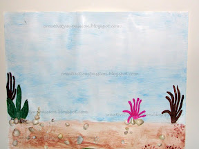 Preschool art - Underwater Scene