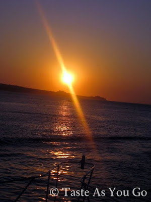 Sunrise on the Sea of Cortez in Los Cabos, Mexico - Photo by Michelle Judd of Taste As You Go