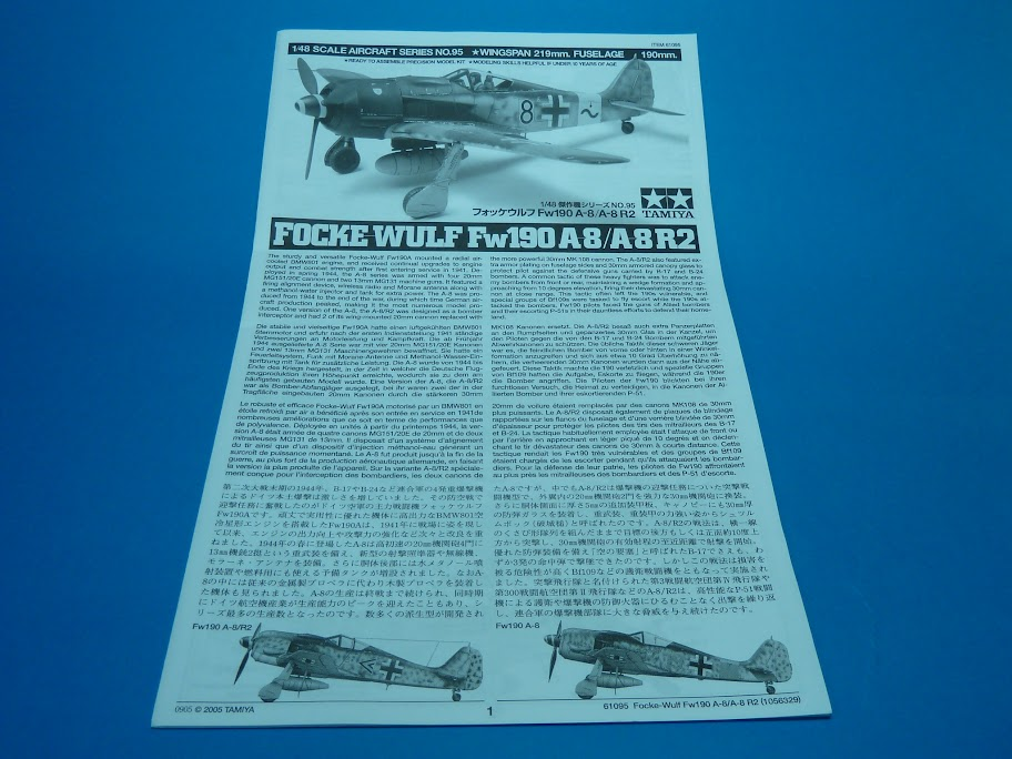 FINALIZADO 24/6 - Focke Wulf Fw 190 A-8 Tamiya 1:48 P1040613