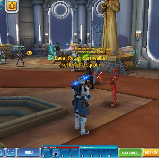 cwa clone wars adventures google