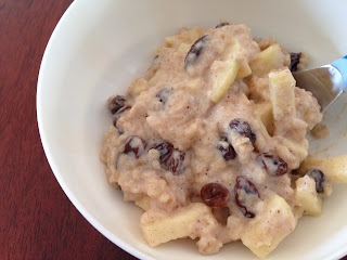 Raisin Cranberry Apple Oatmeal
